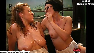 Compilation be useful to the best bukkake whores getting creamed
