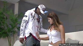 After giving nefarious hunk arresting BJ slutty Felany enjoys brutal anal