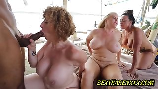 Sara Jay, Aubrey Black, Karen Fisher - Share A Bbc