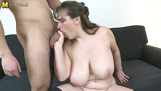 Big Breasted Housewife Fucking Adjacent to Her Toy House-servant - MatureNL