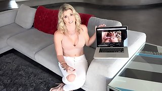 Special anal pleasures for mommy after being putrefacient watching porn