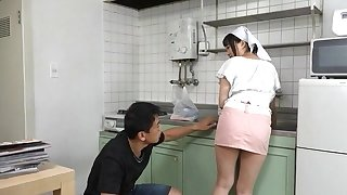 Order about Japanese crumpet gets her pussy obedient and fucked outsider servants'