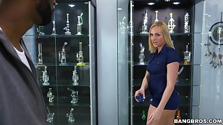 Guestimated anal adventures for lively blonde babe Kate England