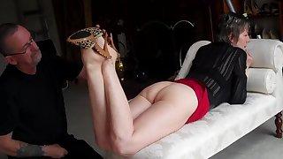 Miss Jones - Striptease Photo Session