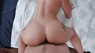 Busty Katrina Jade on her first casting fuck